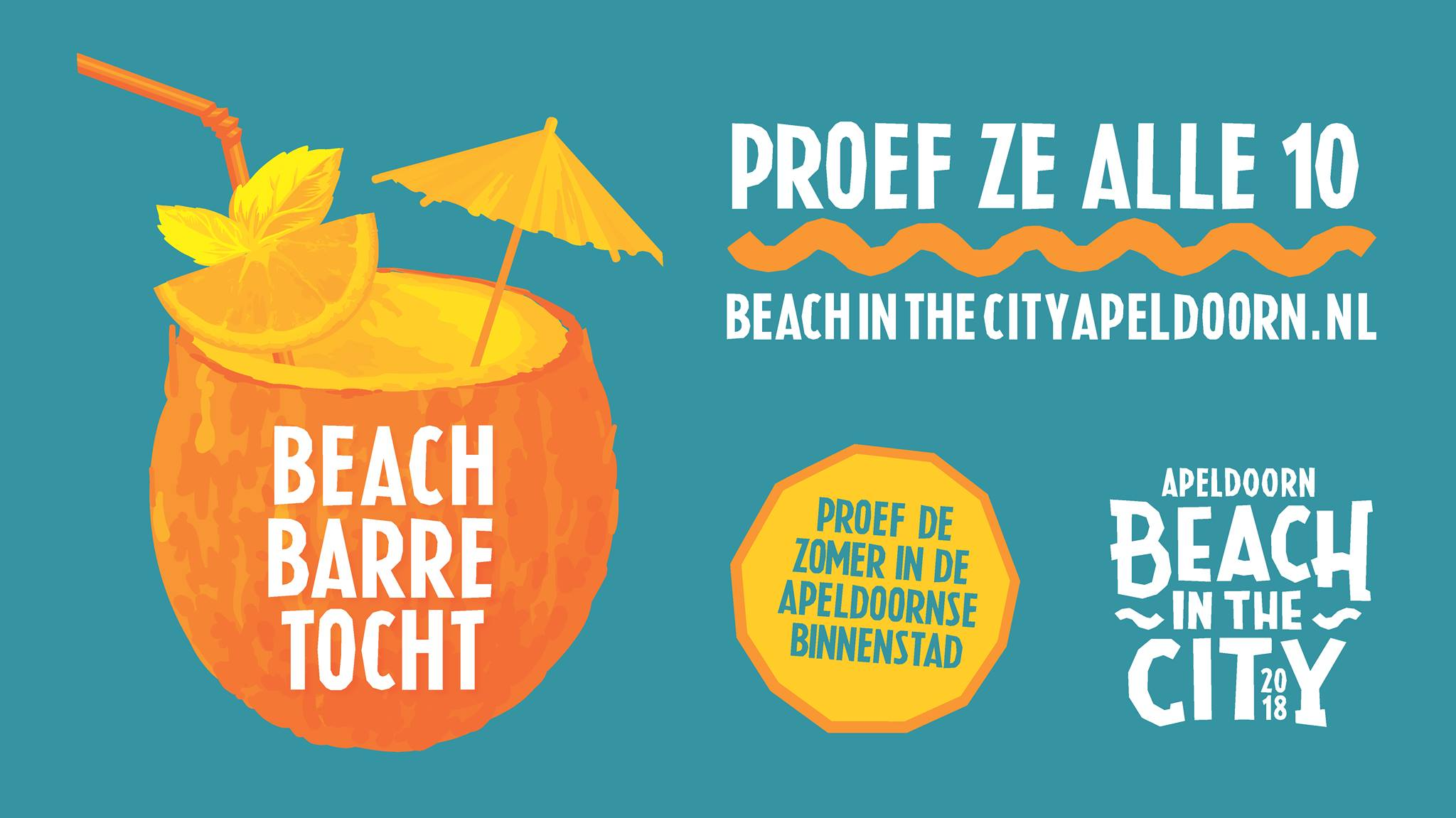 Beach Barretocht van do 19 t/m za 21 juli