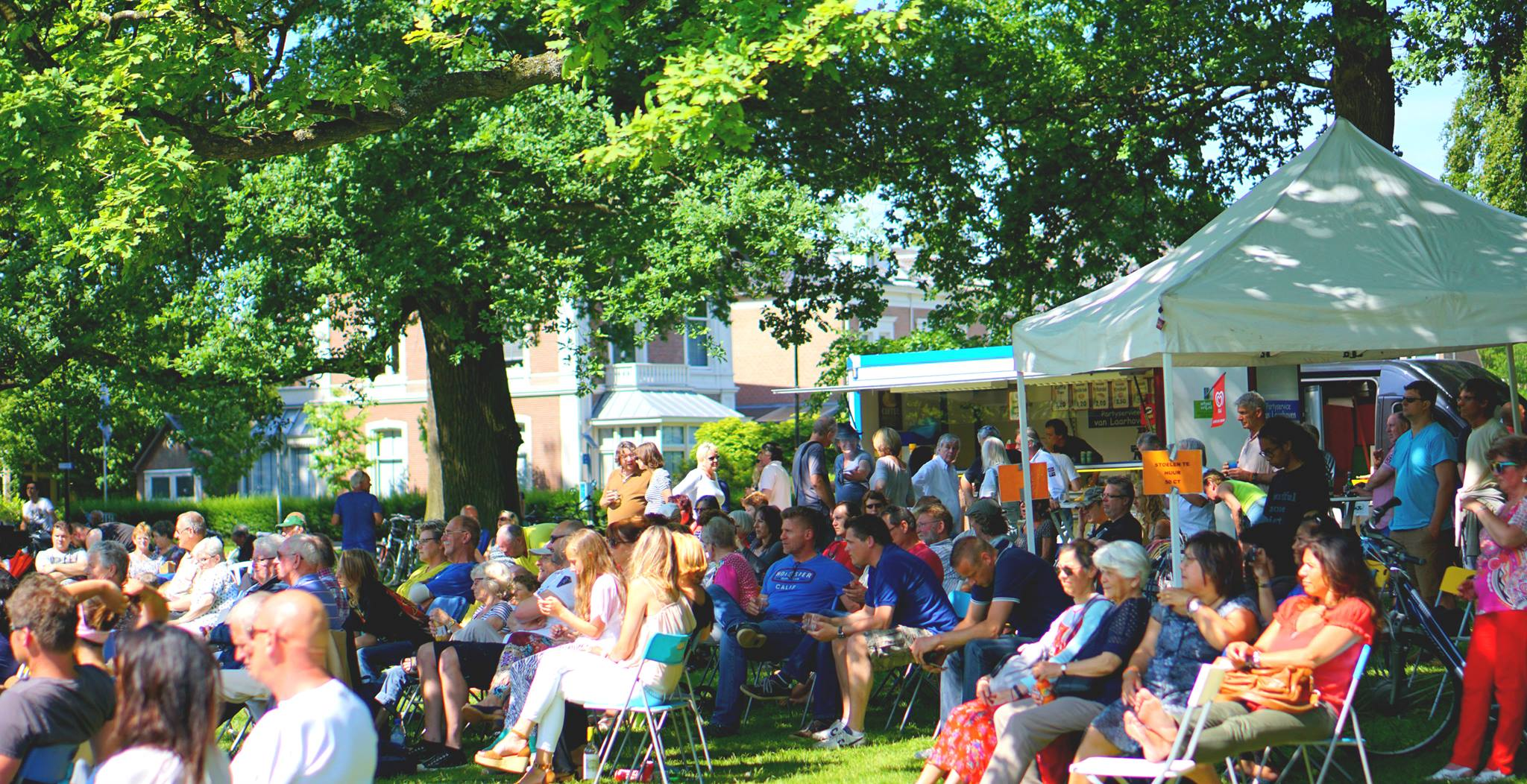 zondagmiddag muziektent concerten oranjepark apeldoorn