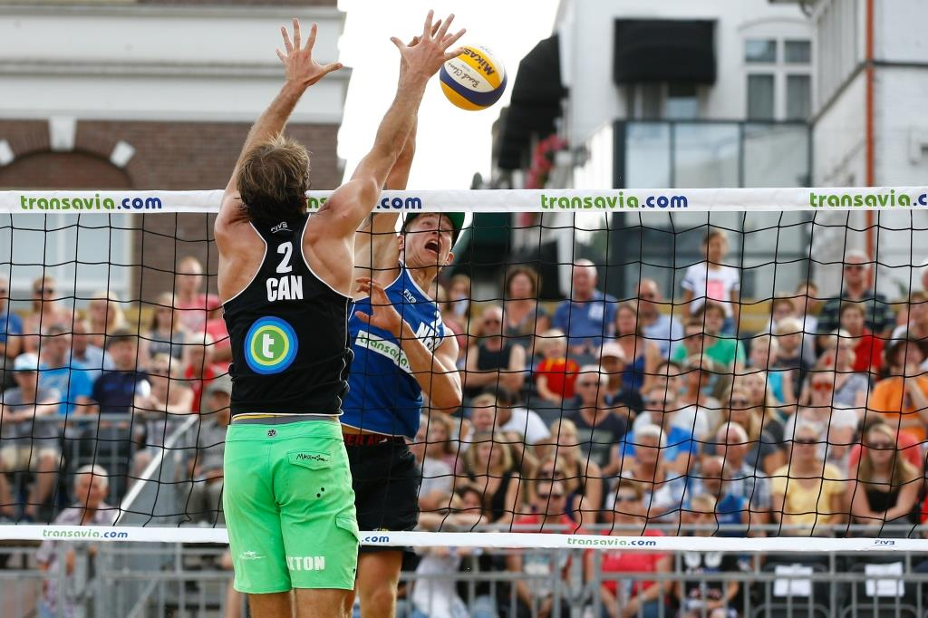 zo 15 t/m za 21 juli: EK Beachvolleybal in hartje centrum >>